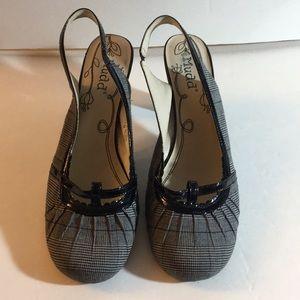 Mudd slingback heels